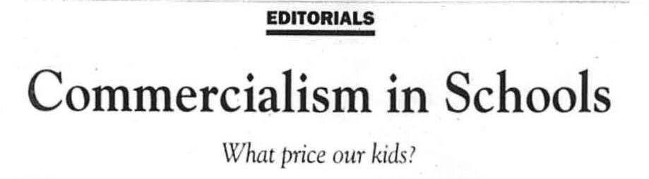 Headline published on Nov. 6, 2000.