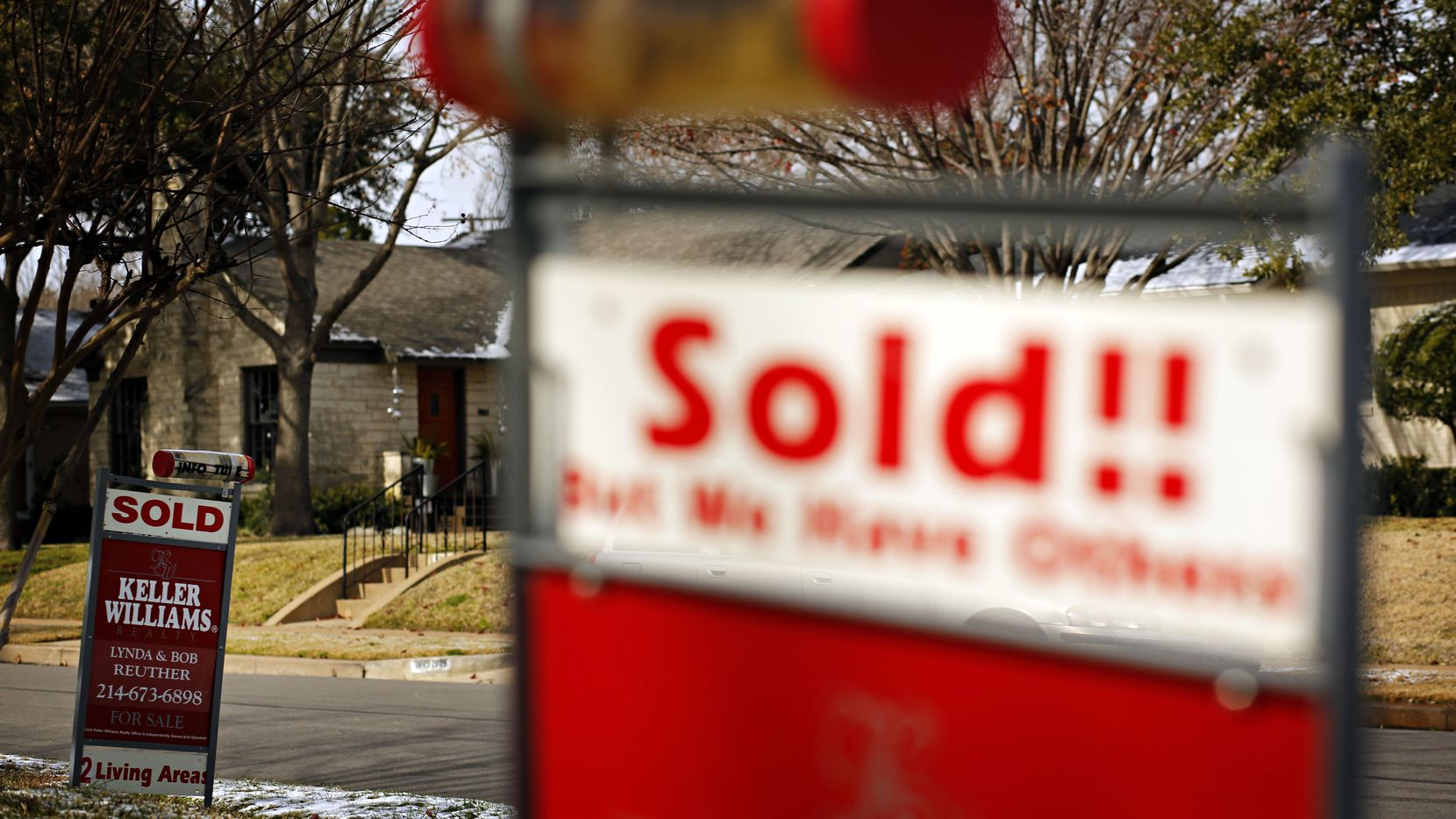 Real estate agents sold more than 102,000 houses in the D-FW area last year.
