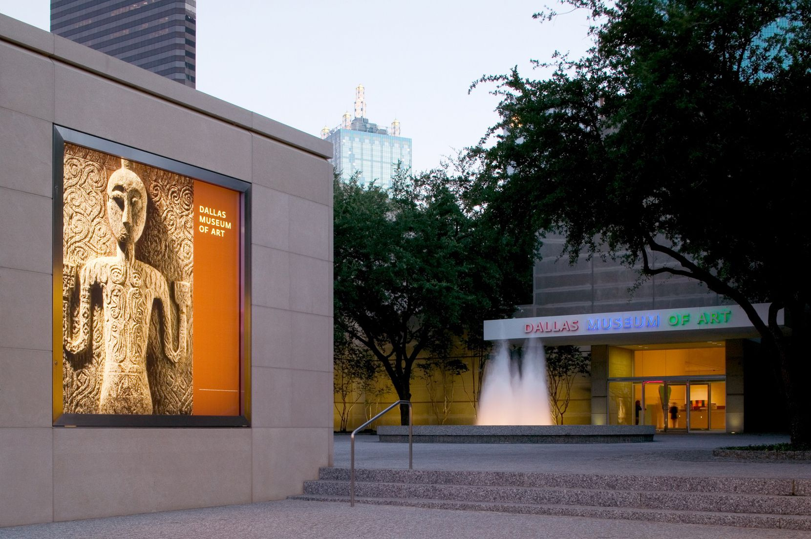 Dallas Museum of Art exterior. Photo courtesy of Dallas Museum of Art.