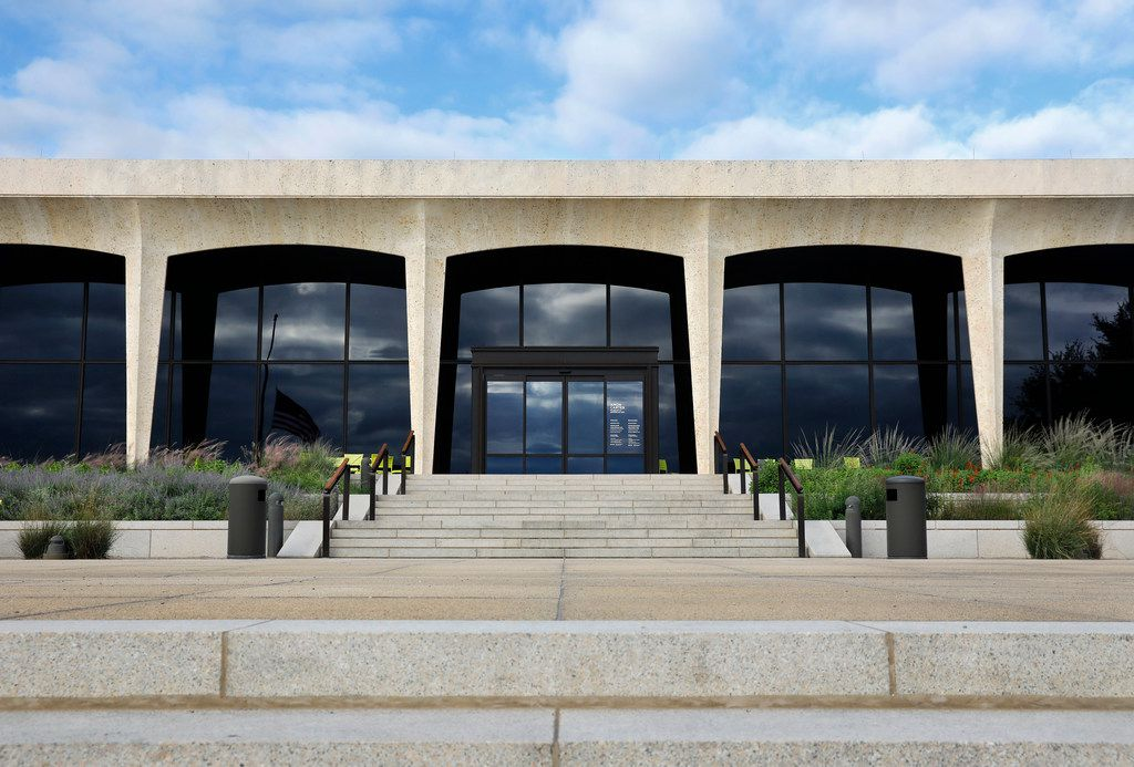 The Amon Carter Museum was designed by famed architect Philip Johnson in Fort Worth.