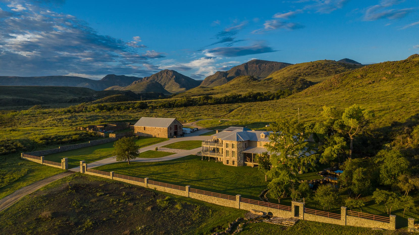 The KC7 Ranch includes a nearly 10,000-square-foot lodge that dates from the 1890s.