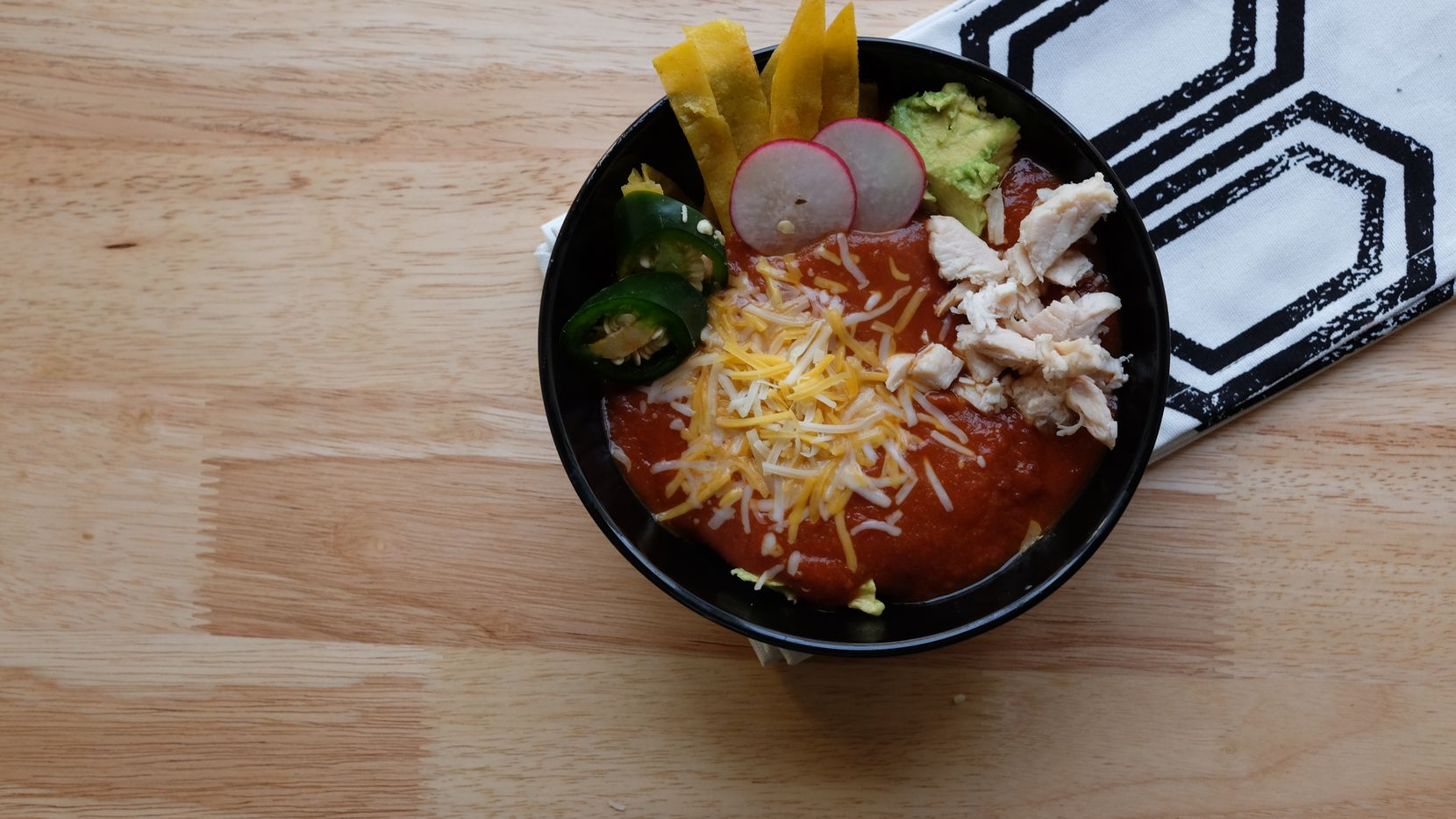Dean's Tortilla Soup with South of the Border Flavors