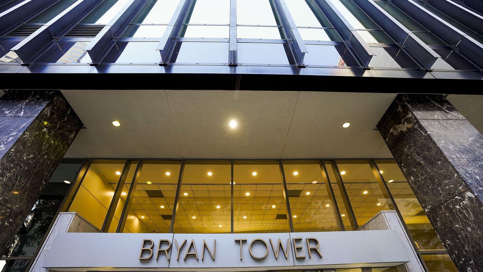 Bryan Tower es uno de los más icónicos edificios del centro de Dallas.