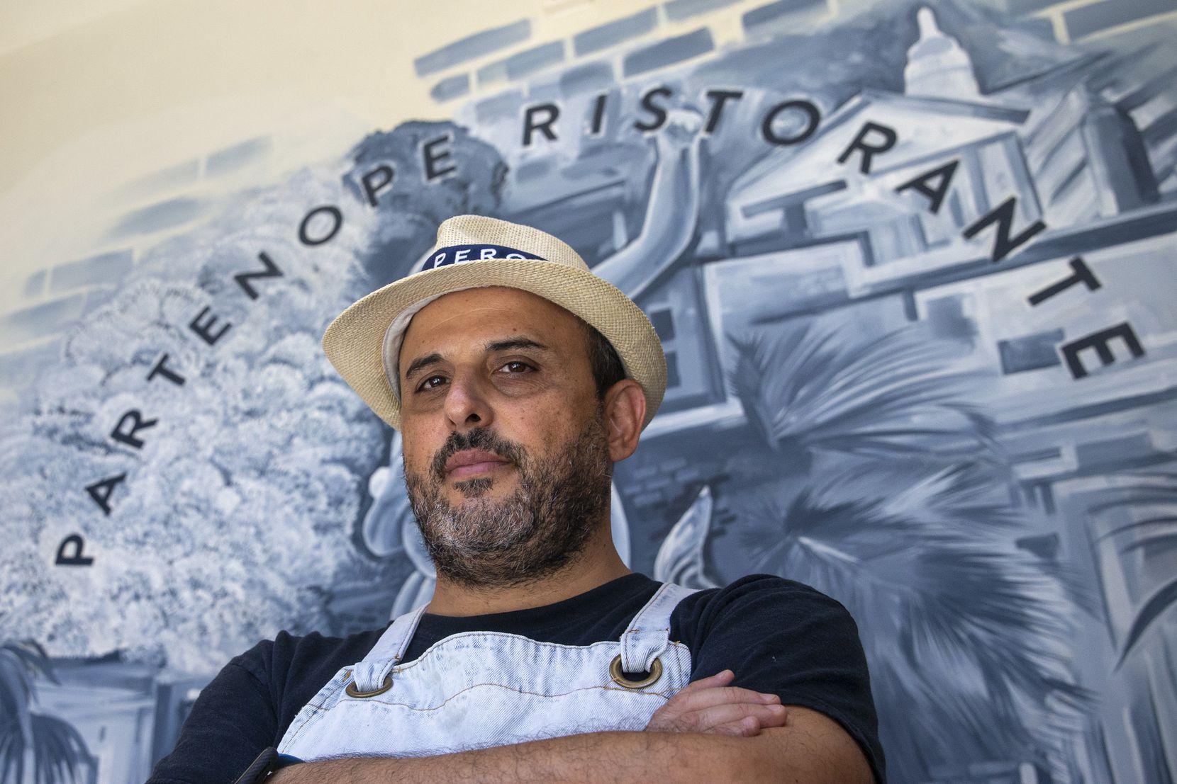 Chef Dino Santonicola owns Partenope Ristorante.