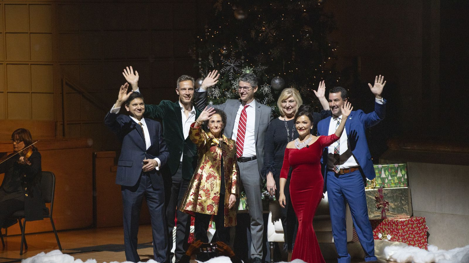 "The Dallas Symphony Orchestra's ""A Holly Jolly Celebration: A C-Suite Christmas"" takes place each December. This year it will also be televised nationwide."