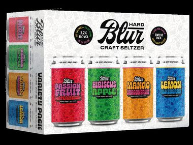 BLUR, the new line of hard seltzers from McKinney's TUPPS Brewery, has four flavor combinations.