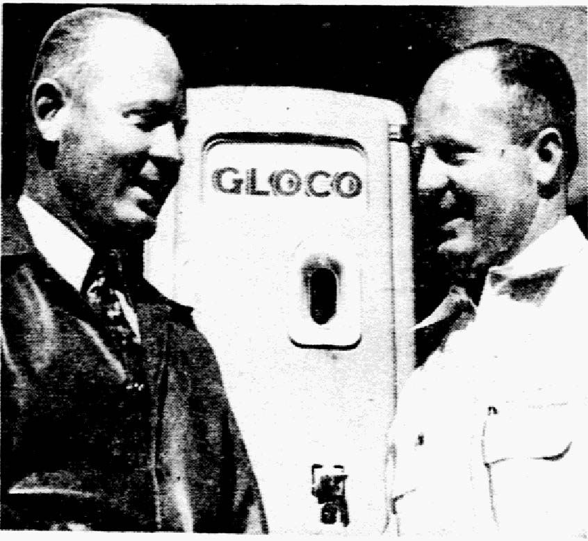 Twin brothers Foy and A.E. Wilemon owned the Good Luck Service Stations.