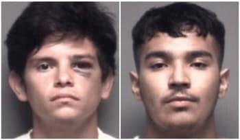Philip Aguilera Baldenegro y Jesse Martínez, enfrentan cargos de homicidio capital y asalto agravado.