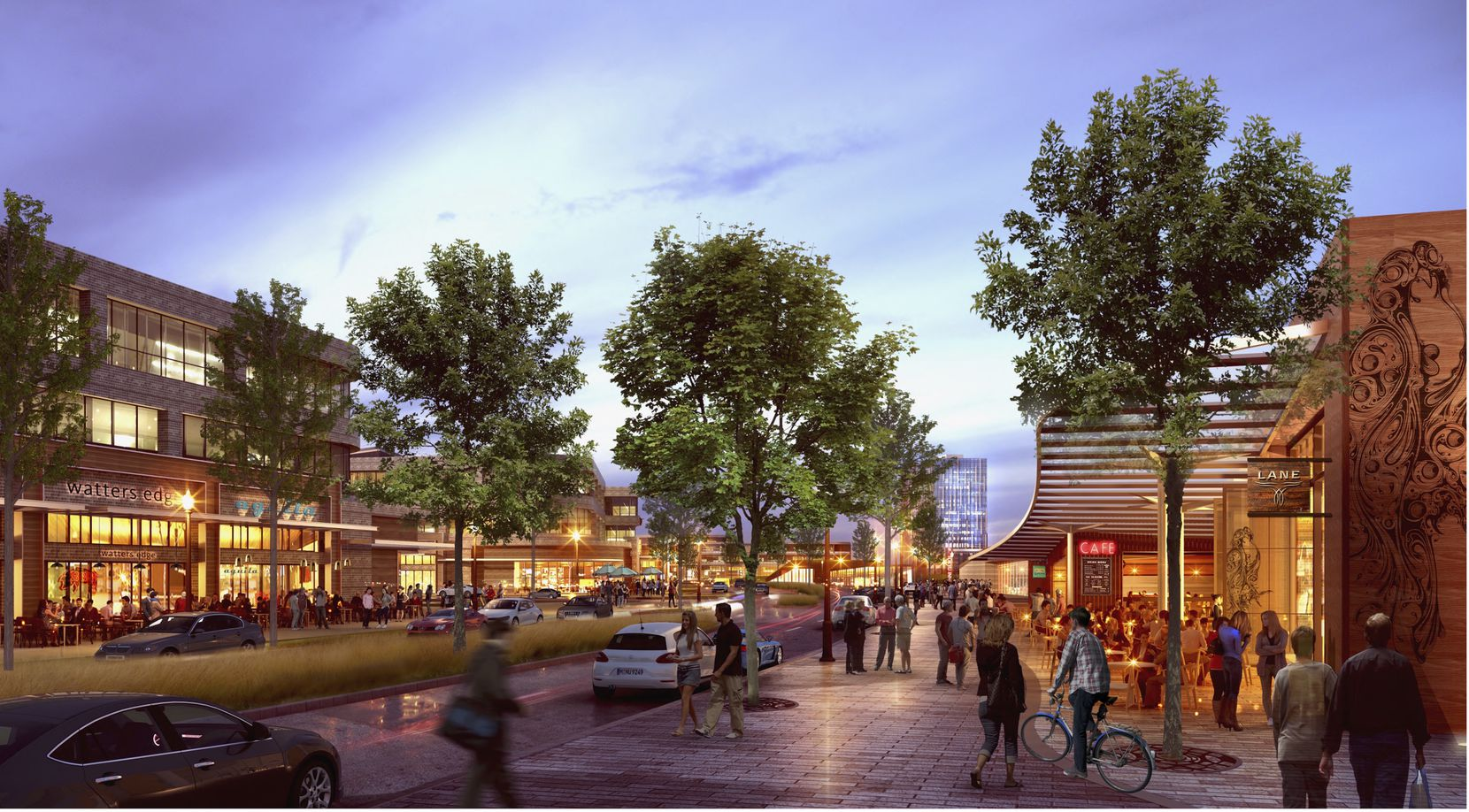 The Strand mixed-use project will include office, retail and residential.