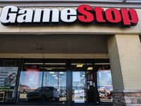 GameStop at Carrollton Park in Carrollton on Saturday, January 30, 2021. (Lola Gomez/The Dallas Morning News)