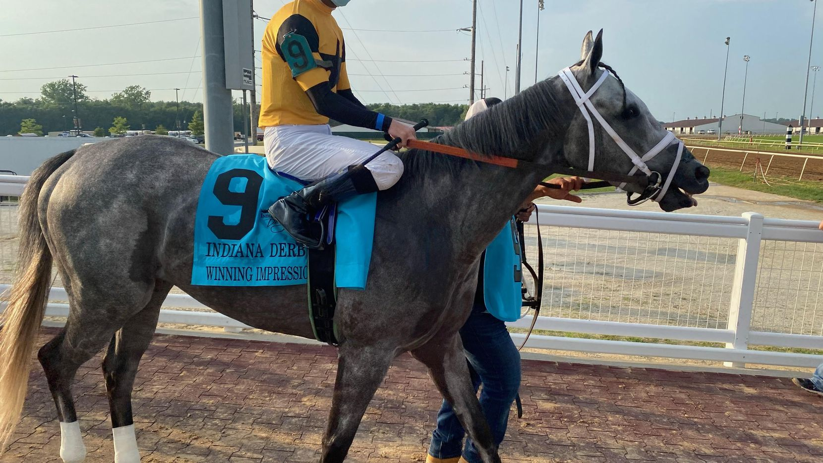 Winning Impression, owned by Michael Grimm and Kevin Mahoney of Fort Worth, is a surprise entrant in Saturday's Kentucky Derby.