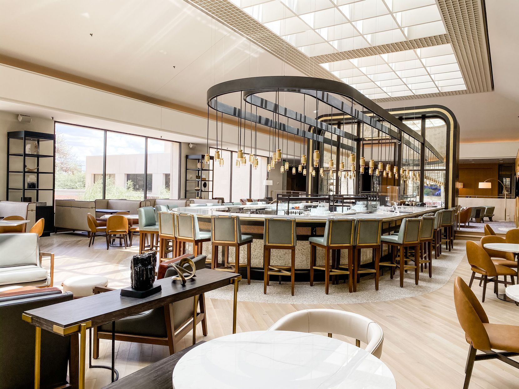 The Omni Las Colinas Hotel got several new dining options.