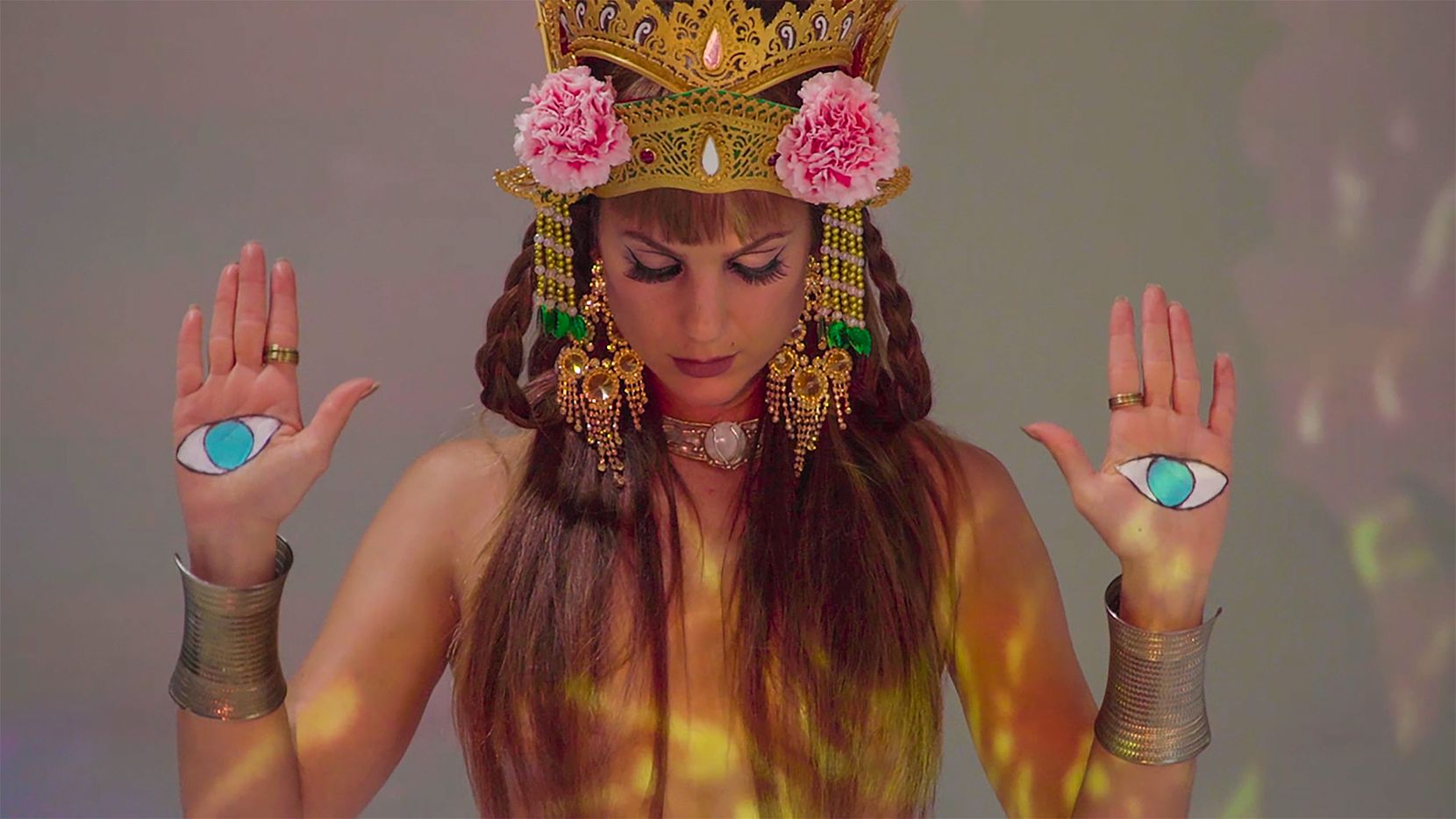 "Alia Mohamed is a Los Angeles belly dancer who is creating a new work, ""Electric Hamsa,"" with her father, Dallas drummer Jamal Mohamed, for the 19th Teatro Dallas International Festival."