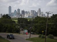 The Bottom lies in the shadow of downtown Dallas.