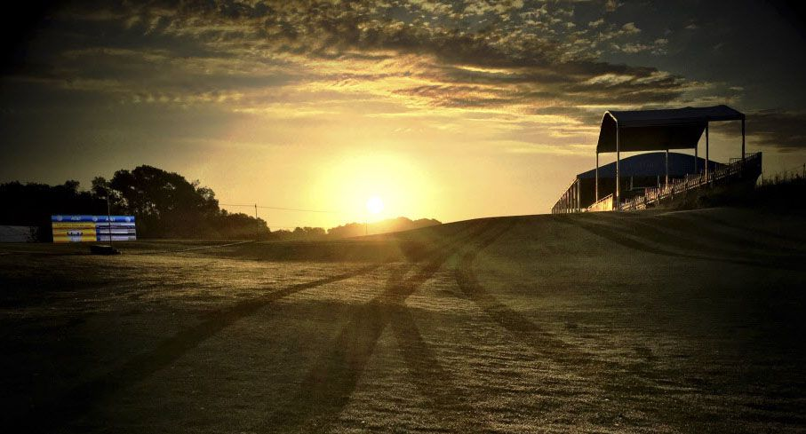 The sun rises over Trinity Forest Golf Club on May 17, before the start of the first round of the AT&T Byron Nelson. The new southern Dallas course became the permanent home in 2018 for the tournament that had left Dallas 35 years earlier for the TPC Four Seasons Las Colinas in Irving.