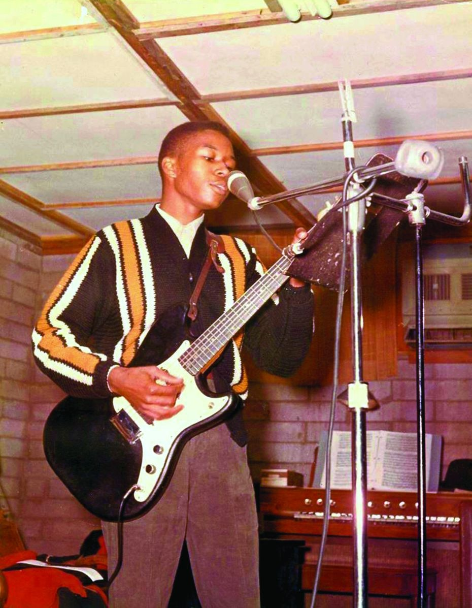 An undated photo of Dallas soul singer Bobby Patterson, possibly in his teens, is among the book's standouts.