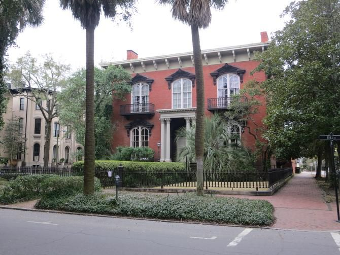 The Mercer Williams House, site of the notorious shooting death in Midnight in the Garden of Good and Evil, is now a museum in Savannah, Ga.