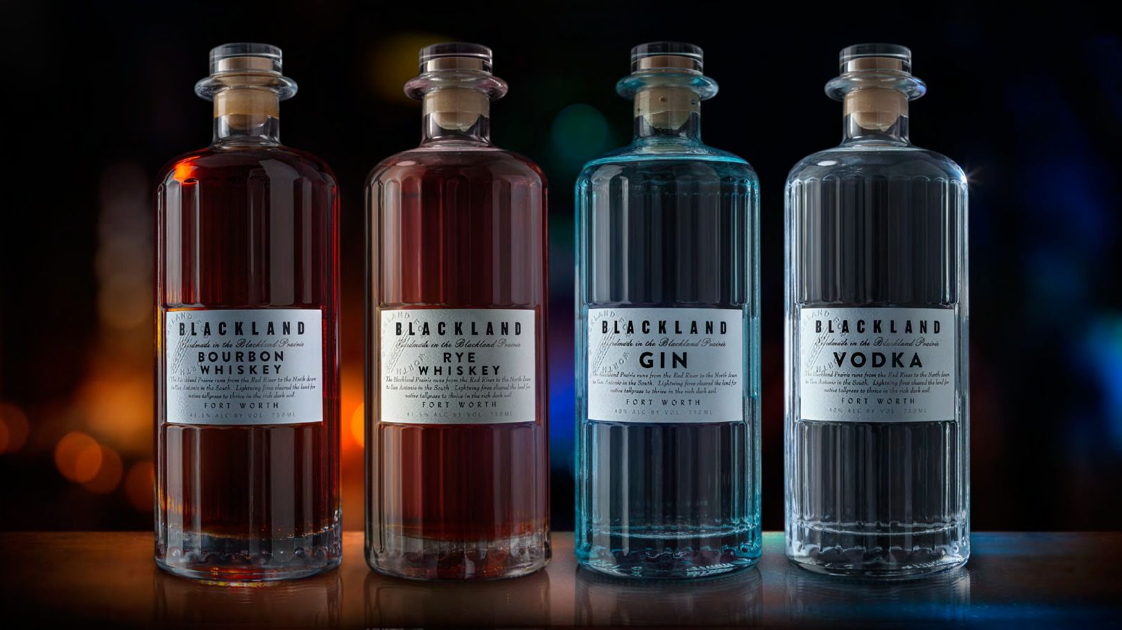 Fort Worth's Blackland Distillery is making high-tech spirits from Texas grains.