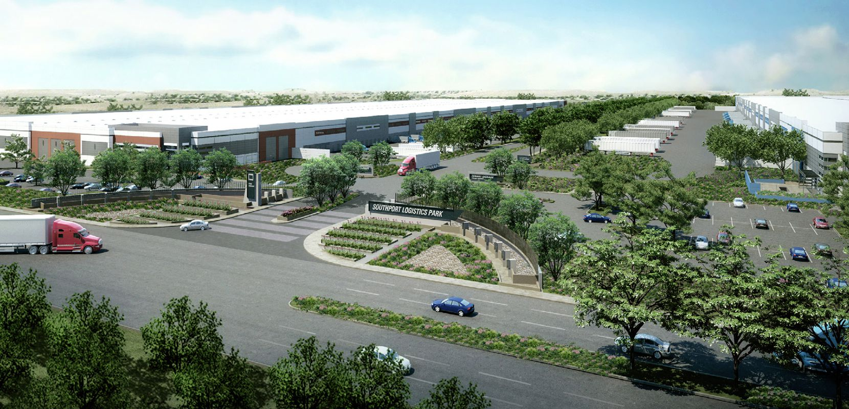 Logistics Property Co. bought the Southport Logistics Park in 2018.