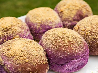 Ube Pandesal by The Pandesal Place in Allen