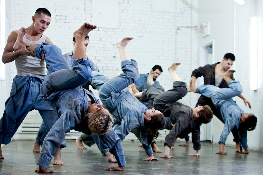 Victor Quijada's Canadian company Rubberbandance Group mashes up ballet with breakdancing.