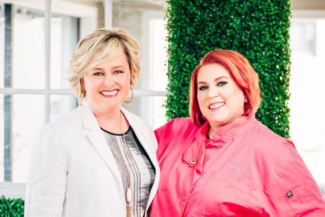 Blythe Beck, on right, will open her new restaurant with Casie Caldwell.