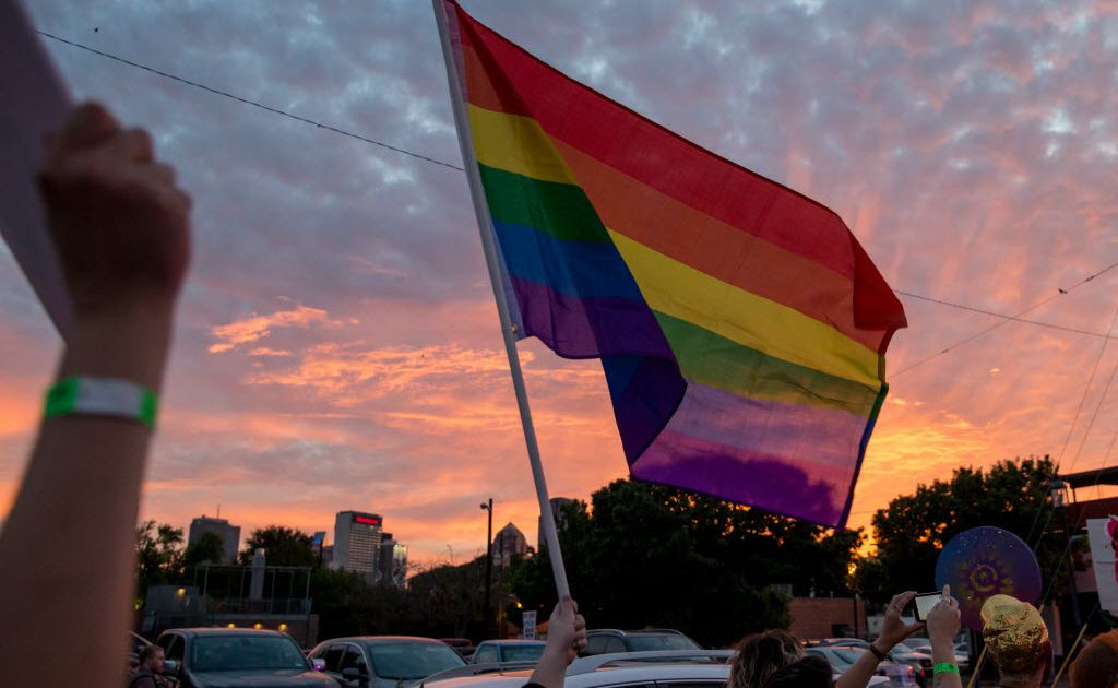 Irving students lead walkout to protest treatment of teachers who supported LGBT rights