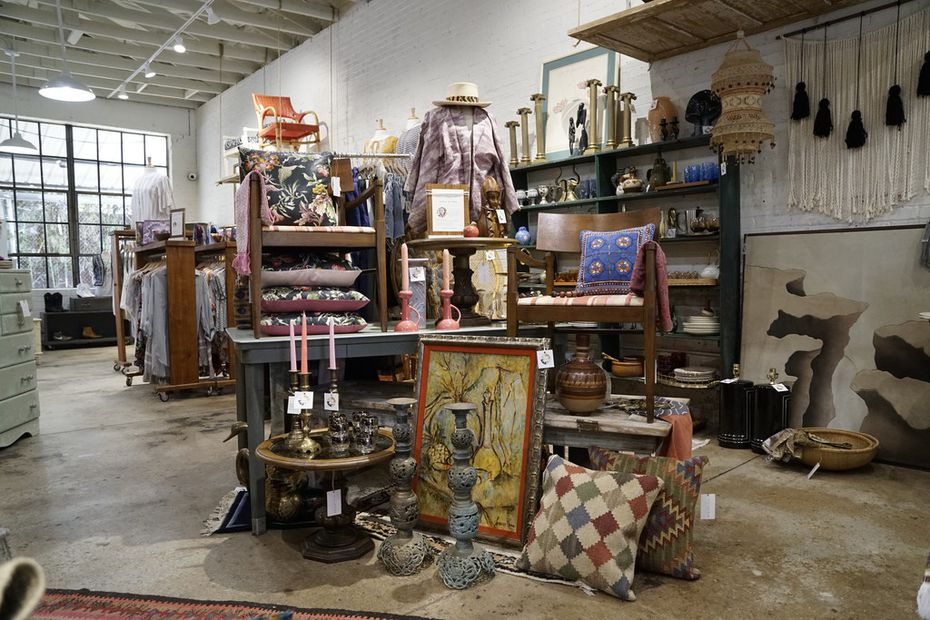 Flea Style in Dallas on June 14, 2018. The hip new store in Deep Ellum carries handmade, vintage, and one of a kind products from small Texas businesses.  (Lawrence Jenkins/Special Contributor)