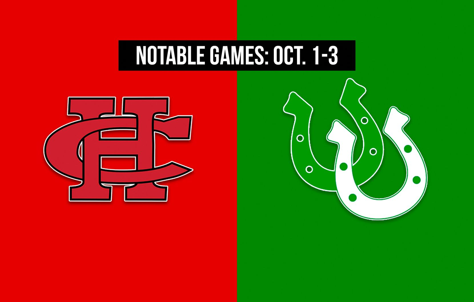 Notable games for the week of Oct. 1-3 of the 2020 season: Cedar Hill vs. Arlington.