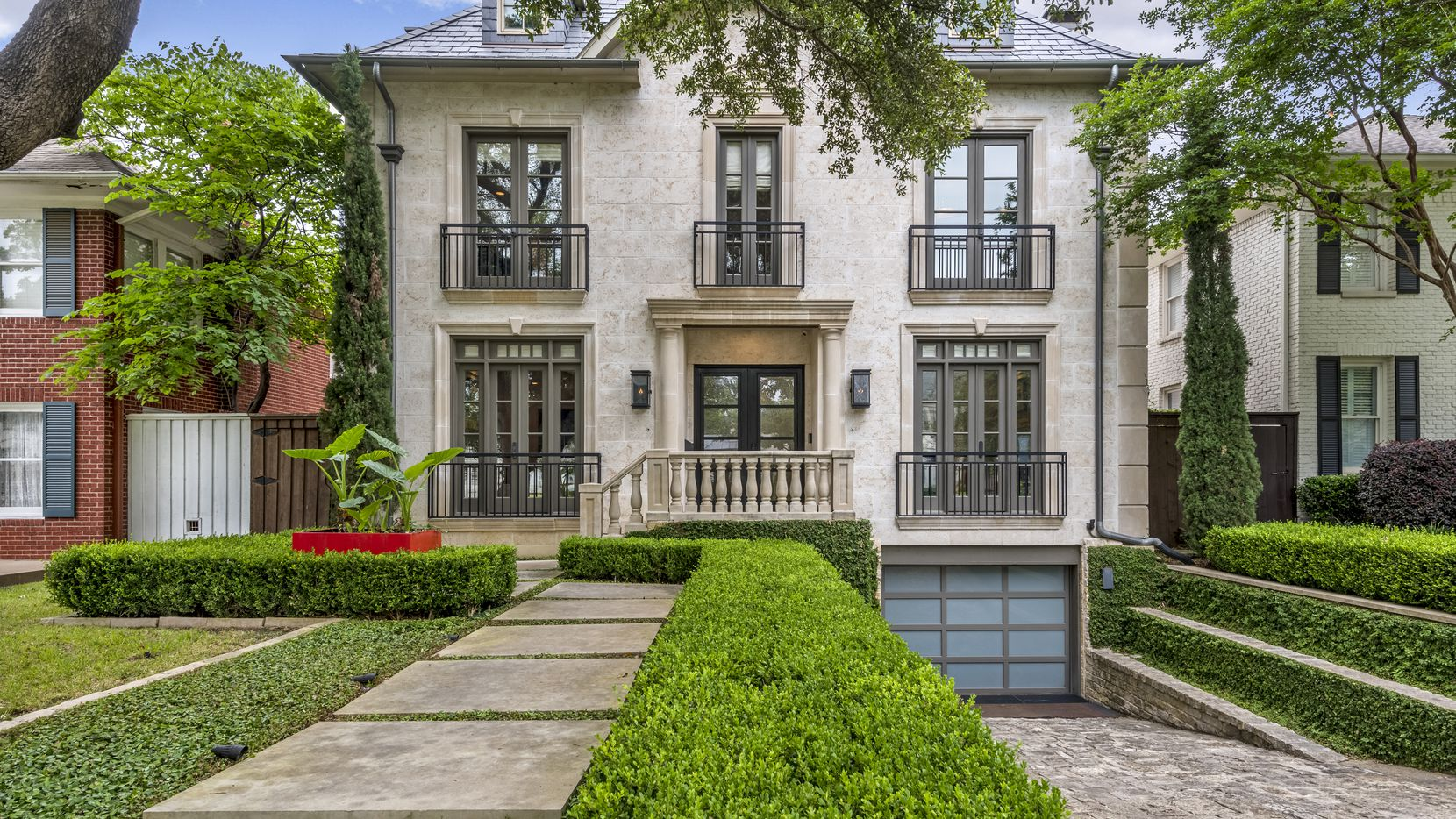 A look at the property at 3632 Normandy Ave. in Dallas.