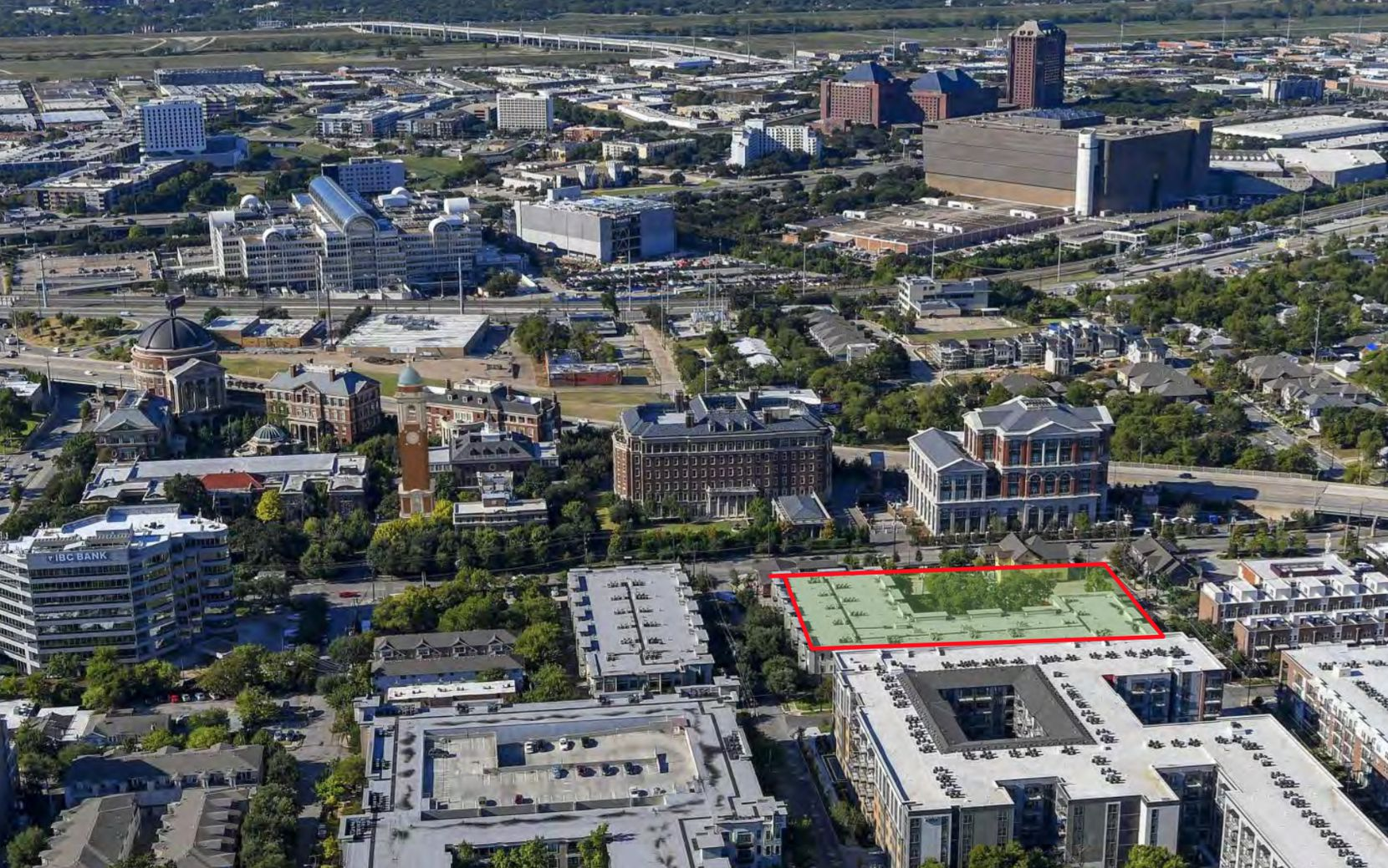 The Old Parkland expansion is proposed at Maple Avenue and Reagan Street.