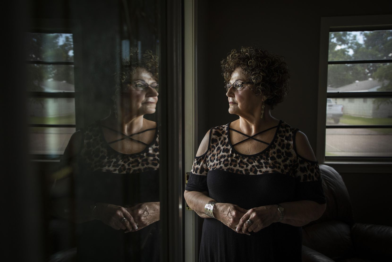 Peggy Bailey photographed at her home on Monday, Aug. 20, 2018, in Port Arthur, Texas.