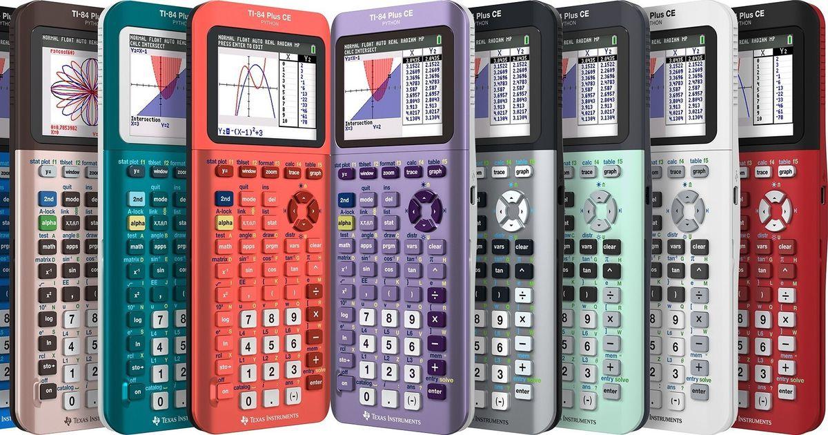 Texas Instruments' new calculator incorporates popular Python programming language