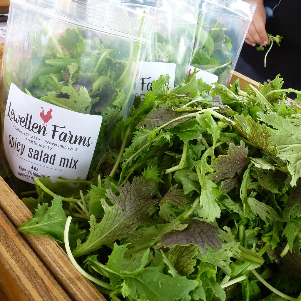 Lewellen Farms of McKinney grows salad greens and microgreens, and will be selling this season for the first time at White Rock Farmers Market.