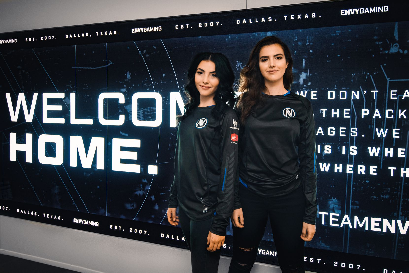 Andrea Botez, left, and Alexandra Botez recently signed with Envy Gaming as content creators for the Dallas-based esports organization.