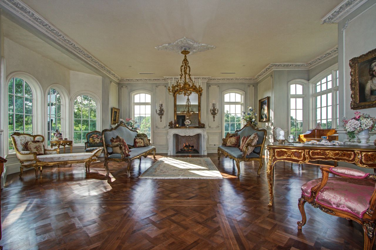 The home's formal living room