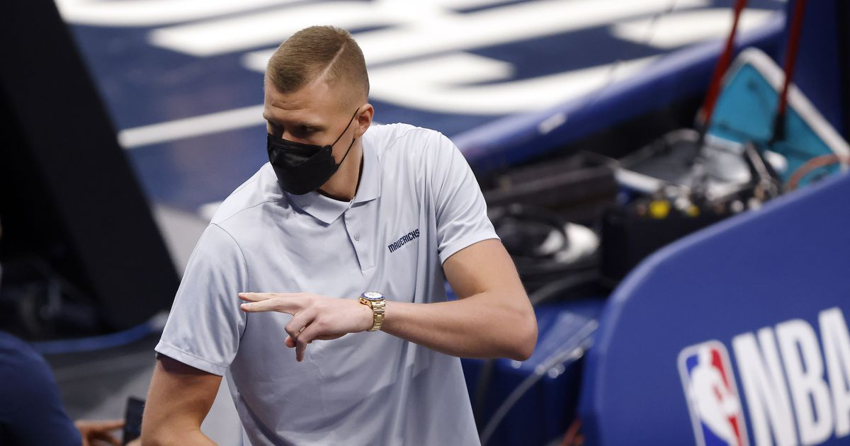 Sorry, folks, Kristaps Porzingis is going to be a Dallas Maverick for a while longer - The Dallas Morning News