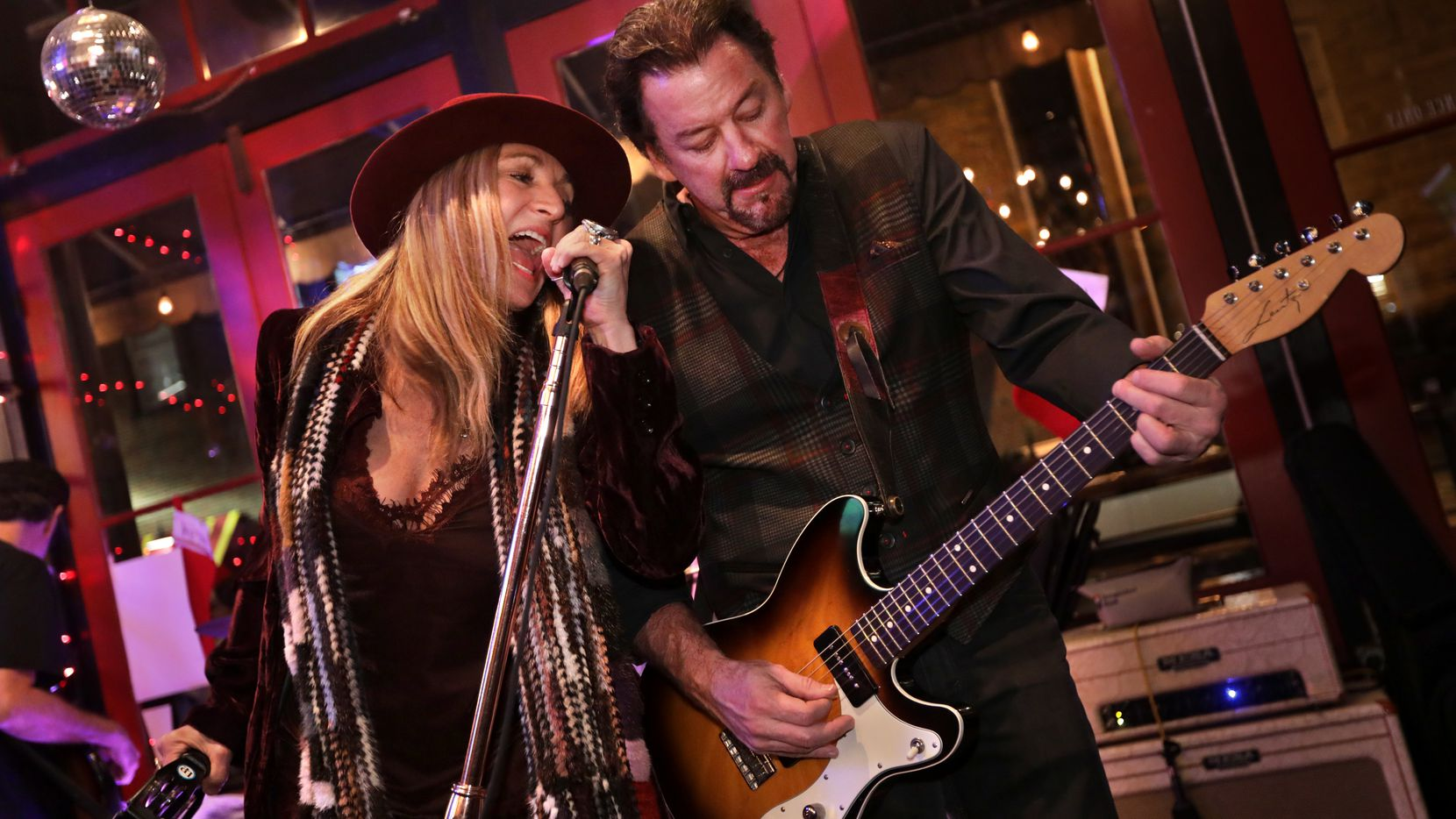 Mayor George Fuller, here performing with his wife Maylee of The Maylee Thomas Band, won re-election on Saturday.