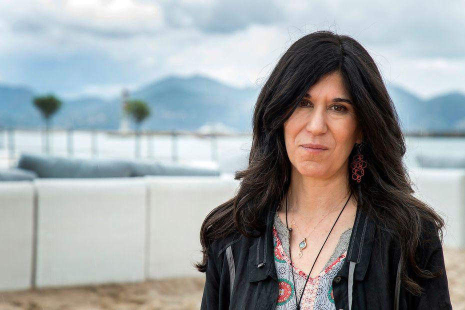 Director Debra Granik at  the 71st international film festival in Cannes  in May.