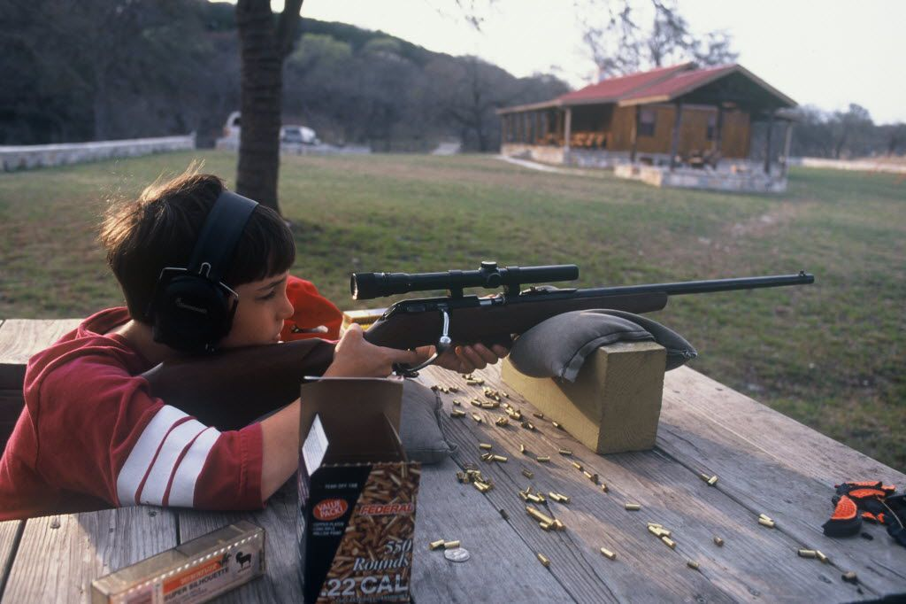 Youth deer hunters need to practice finding a target through a scope sight. The best practice tool for any beginning rifleman is an accurate .22 caliber rifle. The ammunition is inexpensive and a .22 rimfire has virtually no recoil. A .22 is fun to shoot.