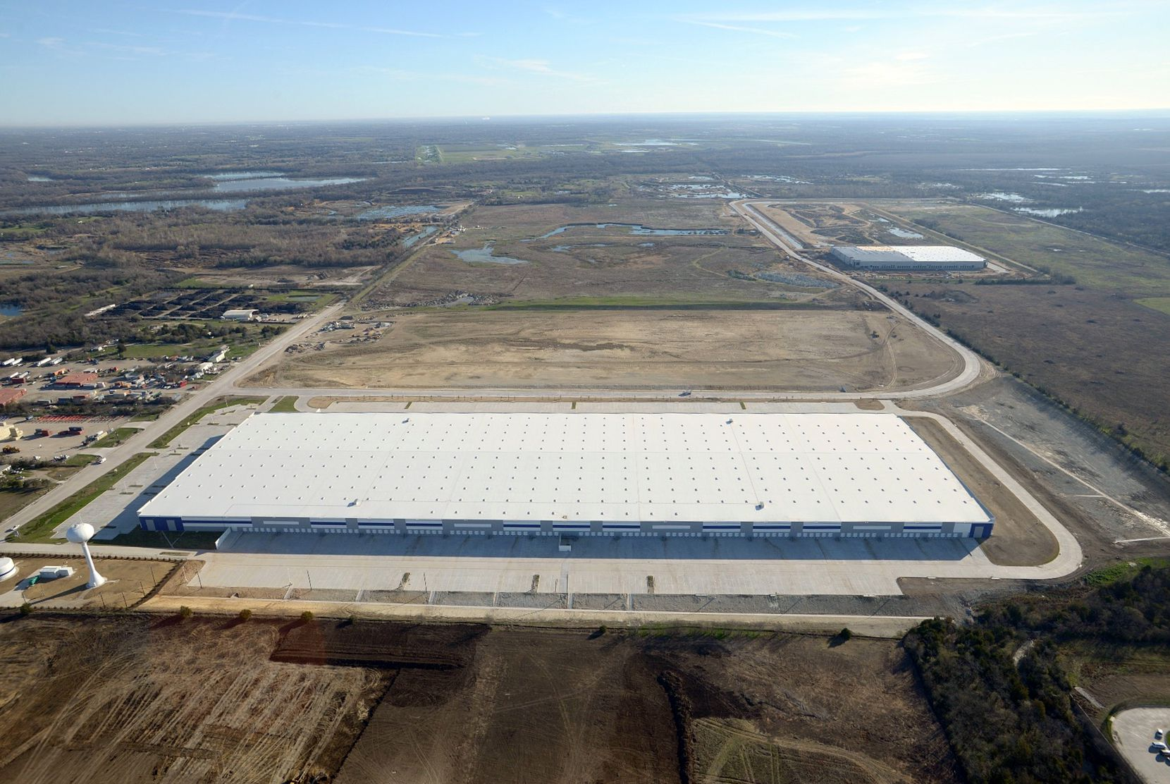 The Southport Logistics Park building has more than 1 million square feet.