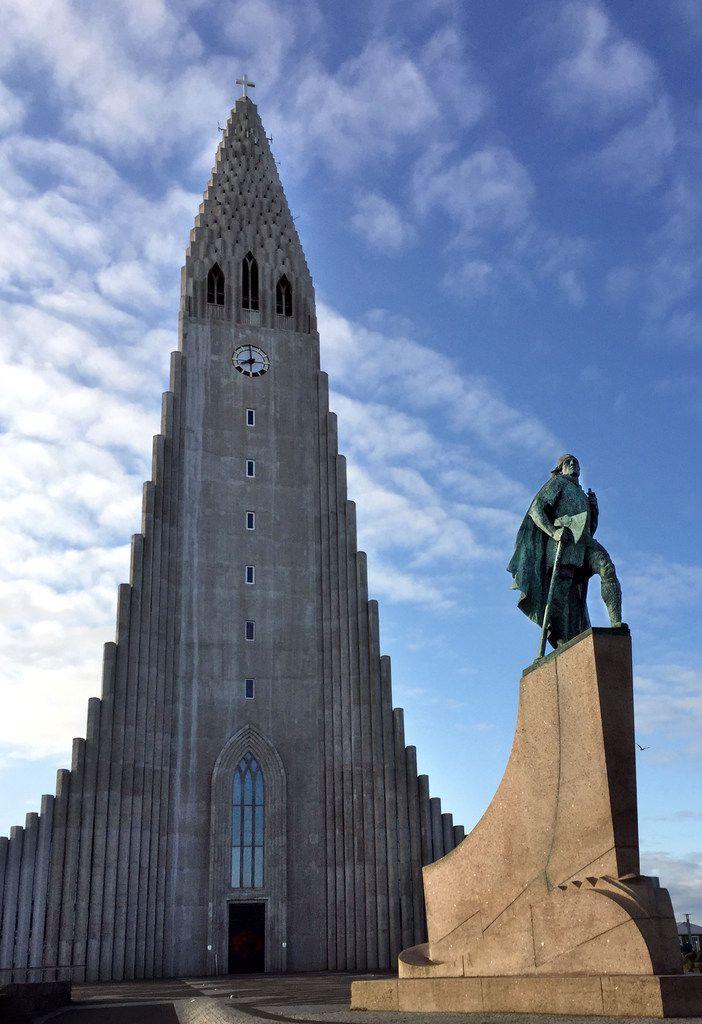 Leif Erikson Memorial, Hallgrímskirkja, Reykjavík, Iceland