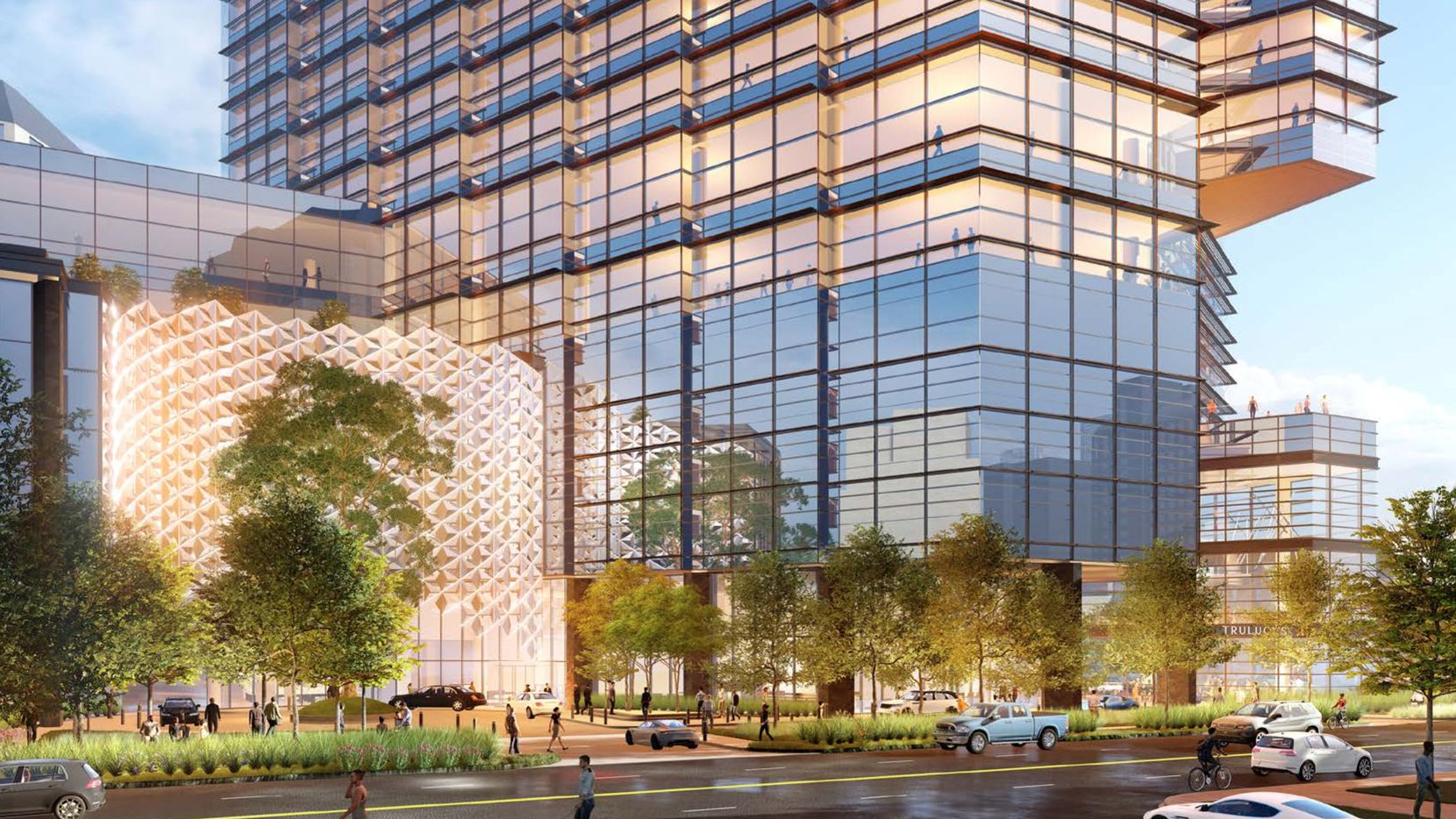 Trammell Crow Co.'s 2401 McKinney tower will be built at Maple and McKinney Avenues.