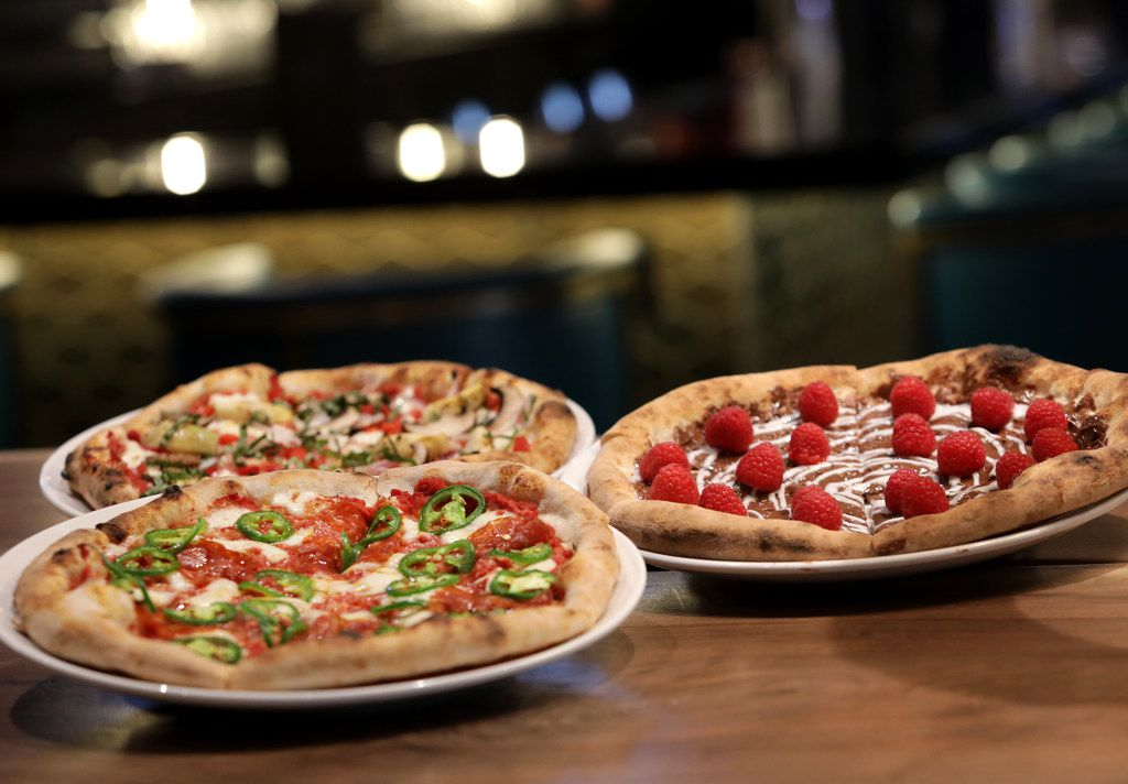 Pizza — both savory and sweet — is an option at the new Cut! by Cinemark in Frisco.
