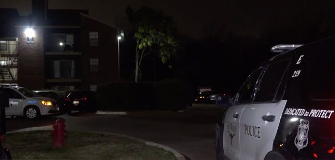 Police say a 25-year-old man is in critical condition at a Dallas hospital after he was shot in the face at a Fort Worth apartment complex in the early morning hours of Feb. 23, 2020.