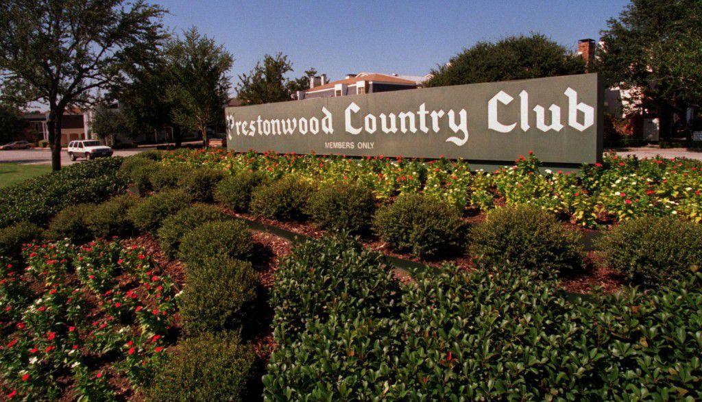 Prestonwood Country Club near Preston and Arapaho roads dates to 1968.