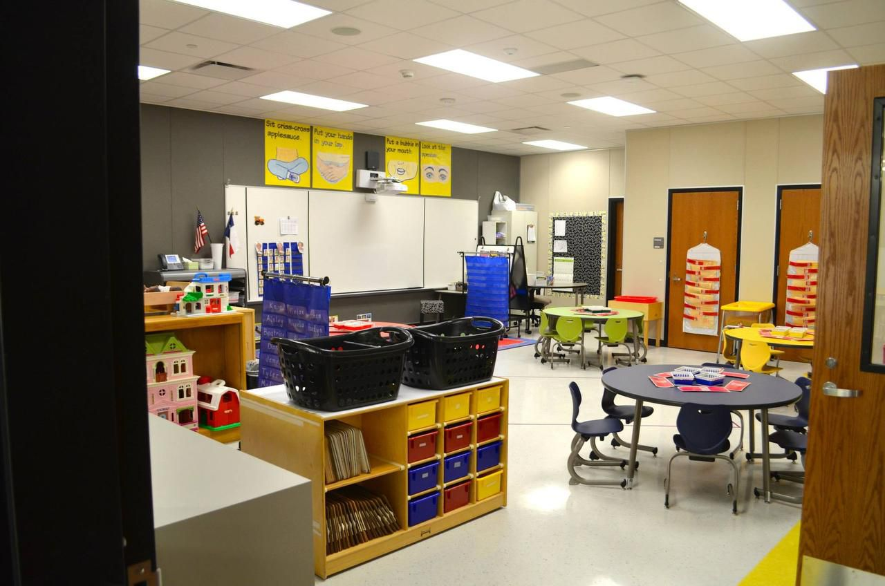 Classrooms at the completed Camey Elementary School are complete with SMART boards.