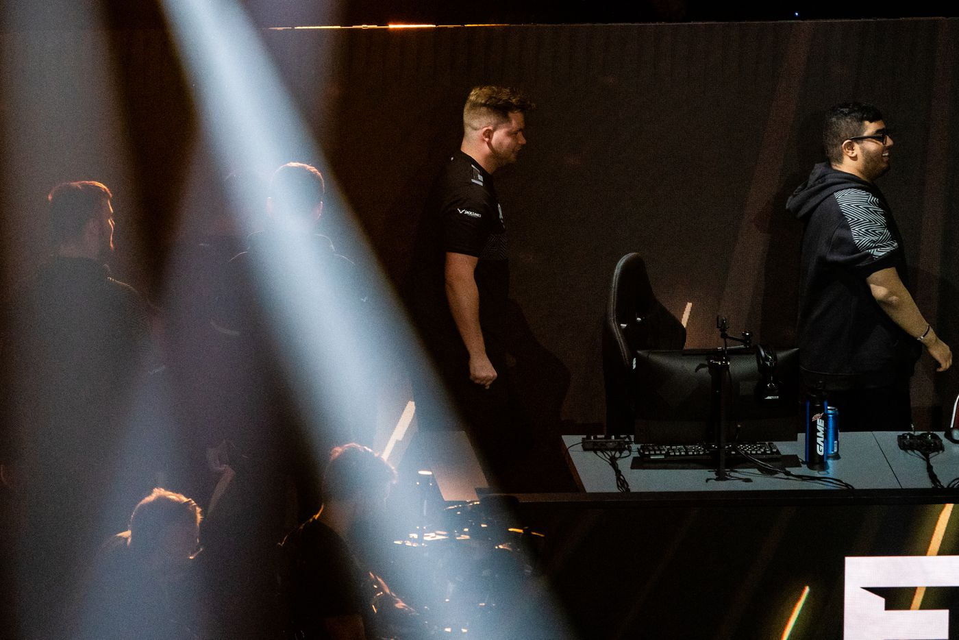 The Dallas Empire is introduced at the start winners final of the Call of Duty league playoffs against the Atlanta FaZe  at the Galen Center on Saturday, August 21, 2021 in Los Angeles, California. The Empire lost to FaZe 0 - 3 in their first match of the day but are still in contention to play in the finals through the elimination finals. (Justin L. Stewart/Special Contributor)