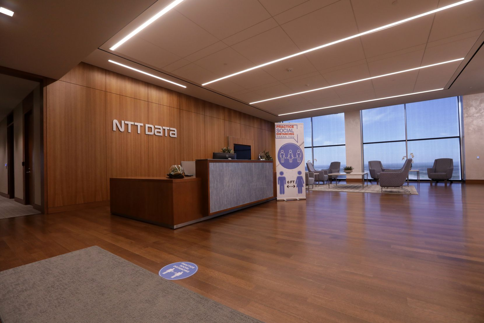 NTT Data Services has 3,000 employees in North Texas, including those who work at the Plano headquarters -- when they're not working from home.