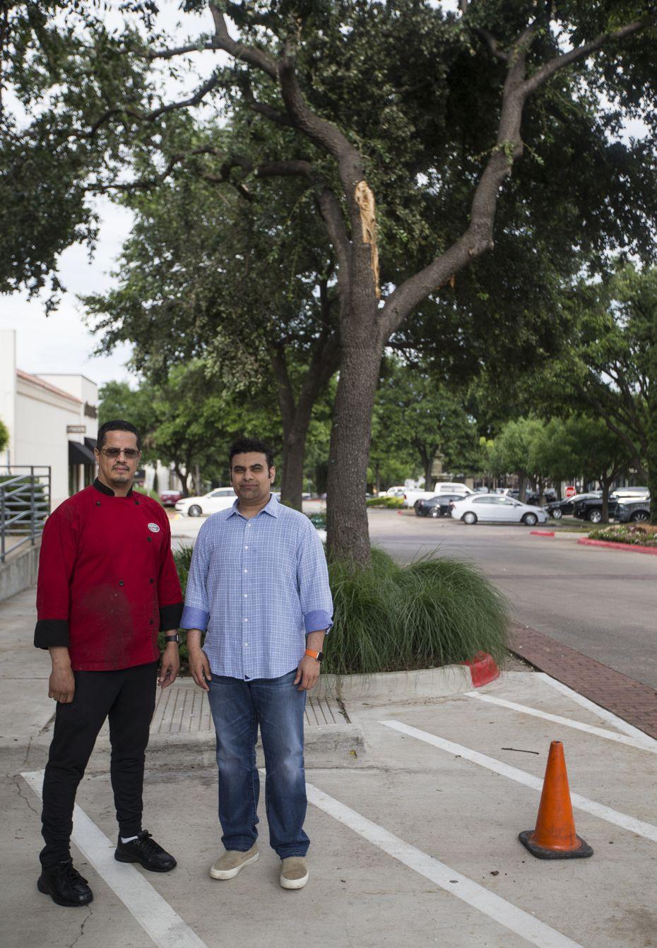 Lowkey Poke Joint owner Sam Handa (right) and chef Jose Araujo.
